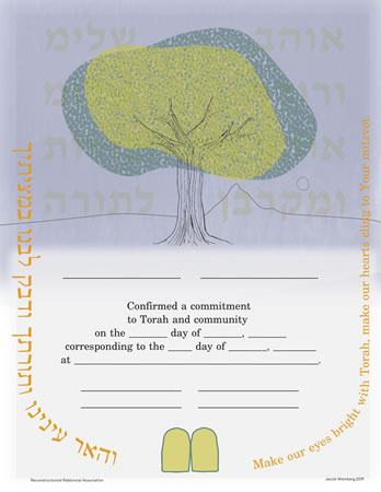 Life Cycle Certificate - Confirmation